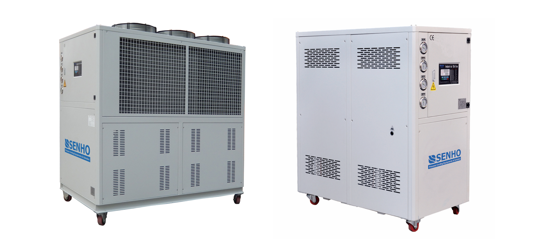 What is the Difference between Air Cooled and Water Cooled Chiller?